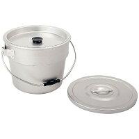 商品コード:ASYG401 アカオ アルマイト 丸型二重食缶 6L