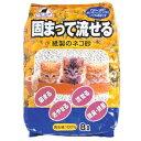 キャットセイド 固まって流せる紙製のネコ砂 8l