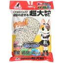 イデシギョー ネコ砂 キャットセイド 紙製の流せる超大粒 8L