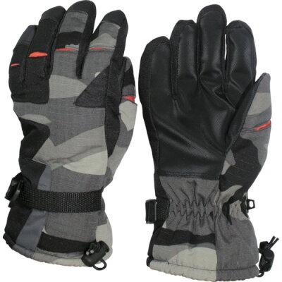 おたふく手袋 HA-326-L ホットエースプロ ダブルタイプ 迷彩グレー L HA326L