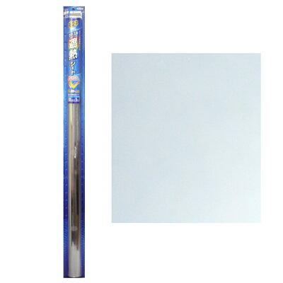 遮熱ガラスシート シルバー 92cm*1m(1枚入)
