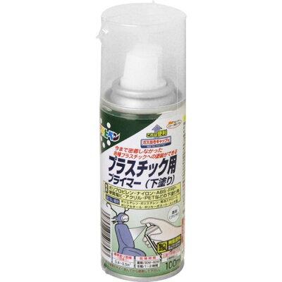 アサヒペン プラスチック用プライマー クリヤ(100ml)