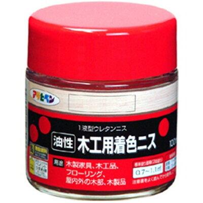 アサヒペン 油性木工用着色ニス メープル(100mL)