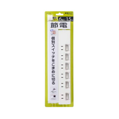 OHM 電源タップ HS-T1392W