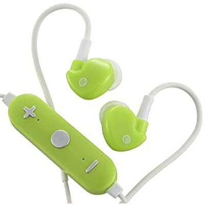 OHM AudioComm Bluetoothステレオイヤホン グリーン HP-WBT130Z-G