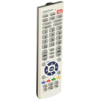OHM AudioComm シャープ アクオス用 リモコン AV-R320N-SH