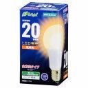 E-Bright LED電球 一般電球形 E26 20形 1.9W 電球色 全方向タイプ 106mm LDA2L-GAG22 06-0683