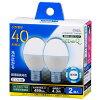 オーム電機 LDA4D-G-E17IH9-2PLED電球 小形 40形相当 E17 昼光色 06-0780LDA4DGE17IH92P