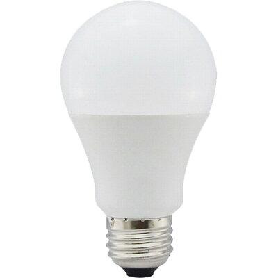 オーム電機 5年保証 LED電球 E26 60形相当 全方向 密閉器具対応 電球色 LDA7L-G AG93