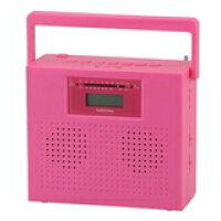 ステレオCDラジオ RCD-R30N-P ピンク