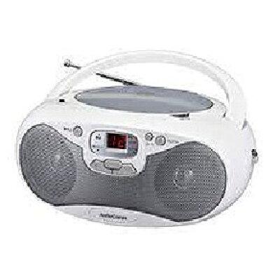 OHM AudioComm CDラジオ ワイドFM対応 RCR-530N-S