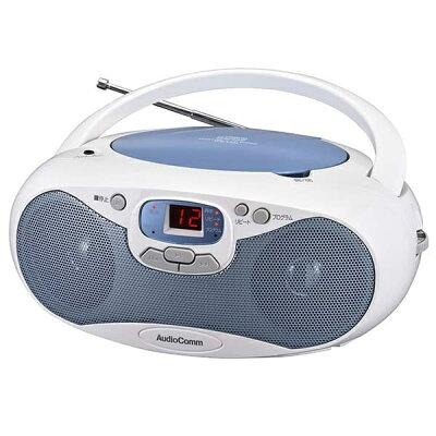 OHM AudioComm CDラジオ ワイドFM対応 RCR-530N-A