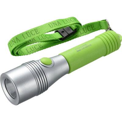 OHM LEDライト ウナルーチェII 50lm 電池付属 グリーン LHP-05C5-G