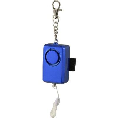 防犯ブザー 大音量95dB ブルー OSE-JCA227-A/08-0959(1コ)