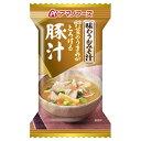 アマノフーズ 味わうおみそ汁 豚汁 1P 15g