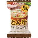 アマノフーズ いつものおみそ汁 とん汁(12.5g)