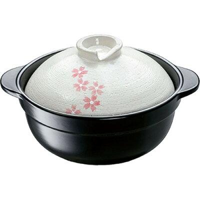 IH対応土鍋 さくら 6号(1コ入)