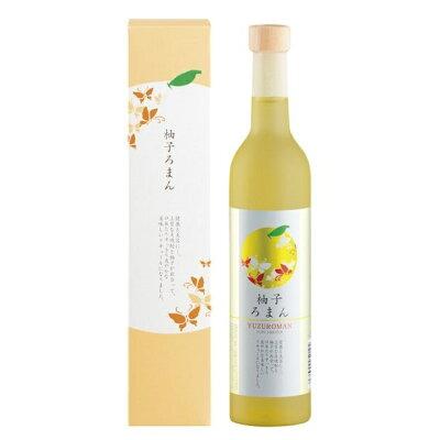 井上 櫻の郷 柚子ろまん 瓶 500ml