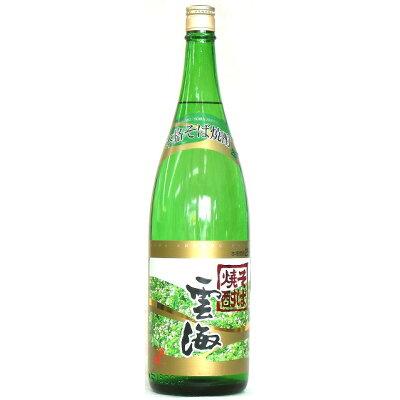雲海 そば焼酎25度 瓶 1.8l