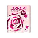 エルモア トイレットロール 花の香り ピンクダブル 2枚重ね30m(18ロール)