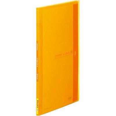 シンプリーズ クリアーファイル サイドイン(透明) オレンジ 187TSP(1冊入)