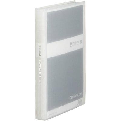 キングジム シンプリーズ クリアーファイル 透明 GX A4 60ポケット 186-3TSPGXトウ 186-3TSPGX