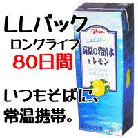 グリコ 高原の岩清水&レモン 200ml