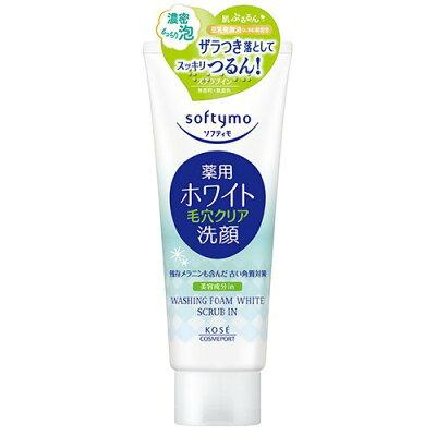 ソフティモ 薬用洗顔フォーム ホワイト スクラブイン(150g)