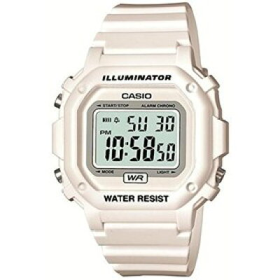 CASIO カシオ 腕時計 スタンダード デジタル表示 ホワイト×ホワイト F-108WHC-7BJF