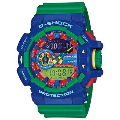 CASIO カシオ  - G-Shock - GA-400 Series - Blue/Green - GA400-2A