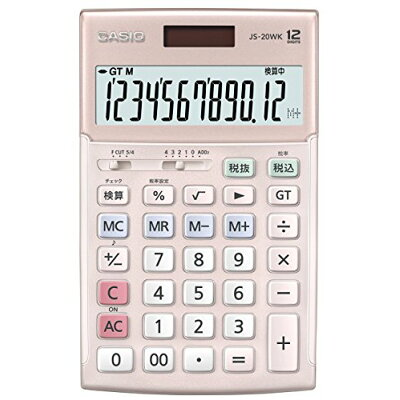 CASIO 電卓 JS-20WK-PK