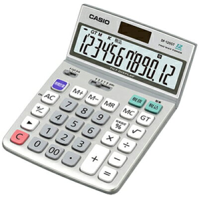 CASIO 電卓 DF-120GT
