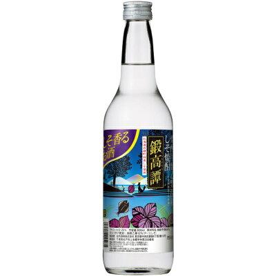 合同酒精 しそ焼酎 鍛高譚