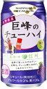 合同酒精 ニッポン プレミアム 長野県産 巨峰のチューハイ 350ml