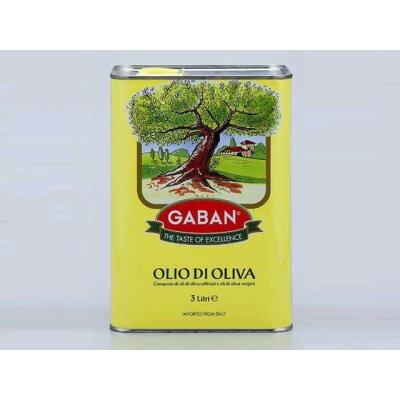 ギャバン GABANオリーブオイルピュア3L缶