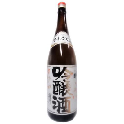 出羽桜 吟醸酒 桜花 火入れ 1.8L