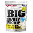 Kentai(ケンタイ) ビッグ 100%ホエイプロテイン プレーンタイプ 3kg