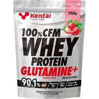 Kentai(ケンタイ) 100%CFM ホエイプロテイン グルタミン ストロベリー K0222(700g)
