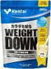 Kentai(ケンタイ) ウェイトダウン ソイプロテイン 甘さ控えめバナナ風味 350g
