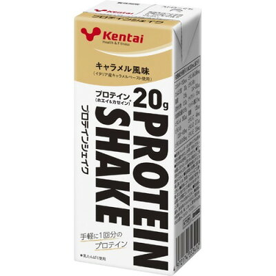 Kentai(ケンタイ) プロテインシェイク キャラメル風味(200mL)