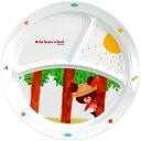 くまのがっこう メラミン食器 ランチ皿(1コ入)
