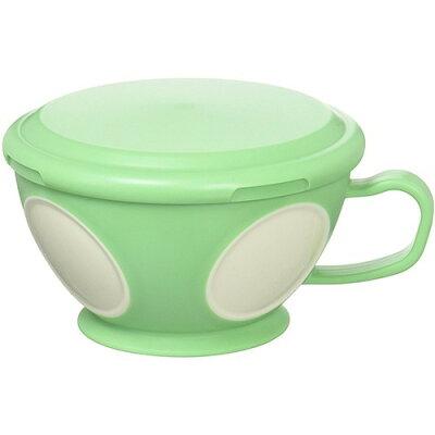 小森樹脂 モグマグ フタ付スープマグ 食洗機 レンジ対応 グリーン(1コ入)