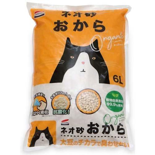 猫砂 ネオ砂 オカラ(6L)