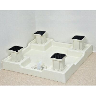 GAONA 洗濯機用嵩上げ台 GA-LF001(4コ入)