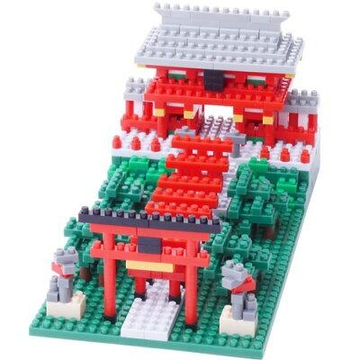 ナノブロック 稲荷神社 NBH-108(1コ入)