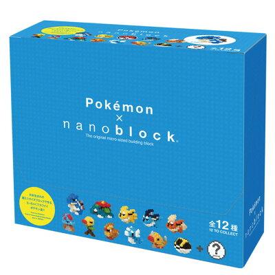 ナノブロック NBMPM-03S ミニポケットモンスター シリーズ03 BOXカワダ