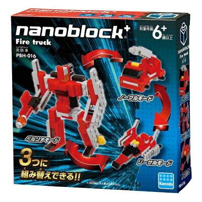 カワダ ナノブロックプラス PBH-016 消防車