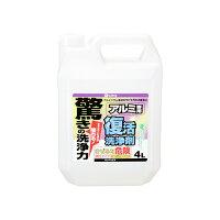 カンペハピオ 4140024L 復活洗浄剤4Lアルミ用 4入