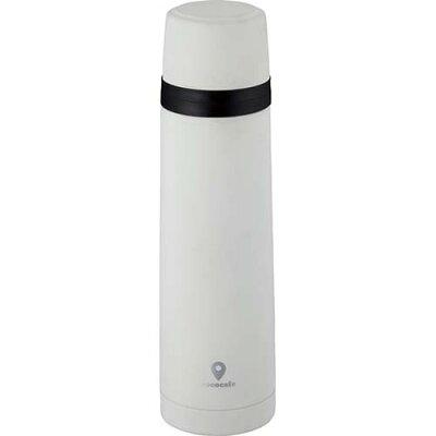 カクセー CC-11 cococafe 真空二重ボトル 500mL ホワイト(1コ入)