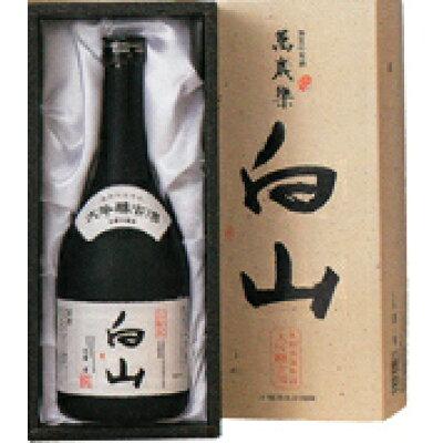 萬歳楽 大吟醸 古酒 白山 化粧箱 720ml